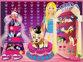 Barbie and her dog