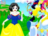DISNEY - HABILLER LES PRINCESSES