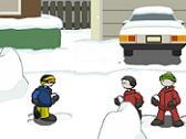 Bombardeo de Nieve!