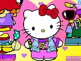 HELLO KITTY - DRESSUP
