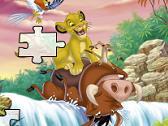 Puzzle - Simba y Pumba