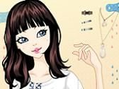 White & Rose Girl Make-up
