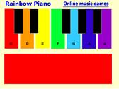 Rainbow Piano