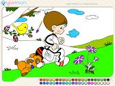 Peindre Enfant