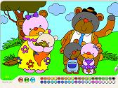PAINT - BEARS FAMILY
