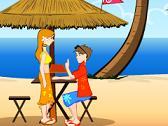 Café en la Playa