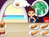 Hamburguesas y Hot Dogs en la Playa