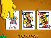 SIMPSONS - THREE CARDS MOE