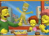 SIMPSONS - BART EN PATINETA