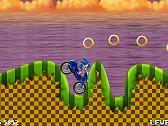 Sonic en Motocicleta