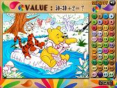Winnie Color Maths
