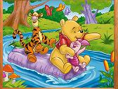 Winnie the Pooh Sliding Puzzle